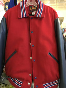 WPHS Varsity Jacket Front Blank