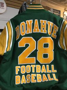 Bishop Donahue Varsity Jacket Back