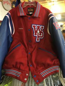 WPHS Varsity Jacket Front