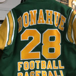 Bishop Donahue Varsity Jacket Back