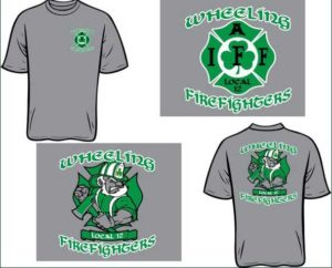 Wheeling Firefighters T-shirt